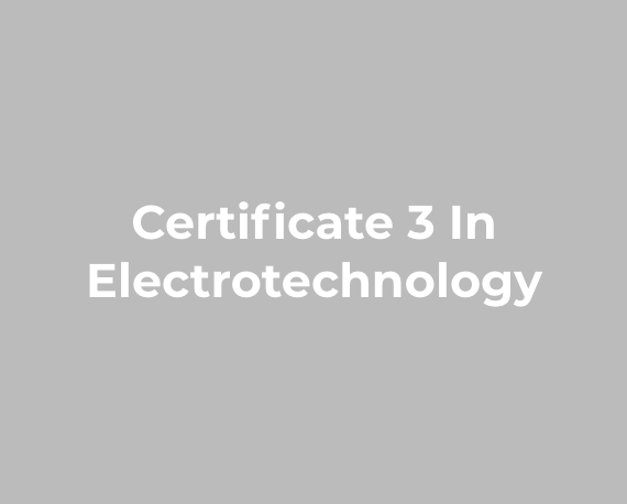 LEI COURSE (ELECTRICAL INSPECTORS COACHING)